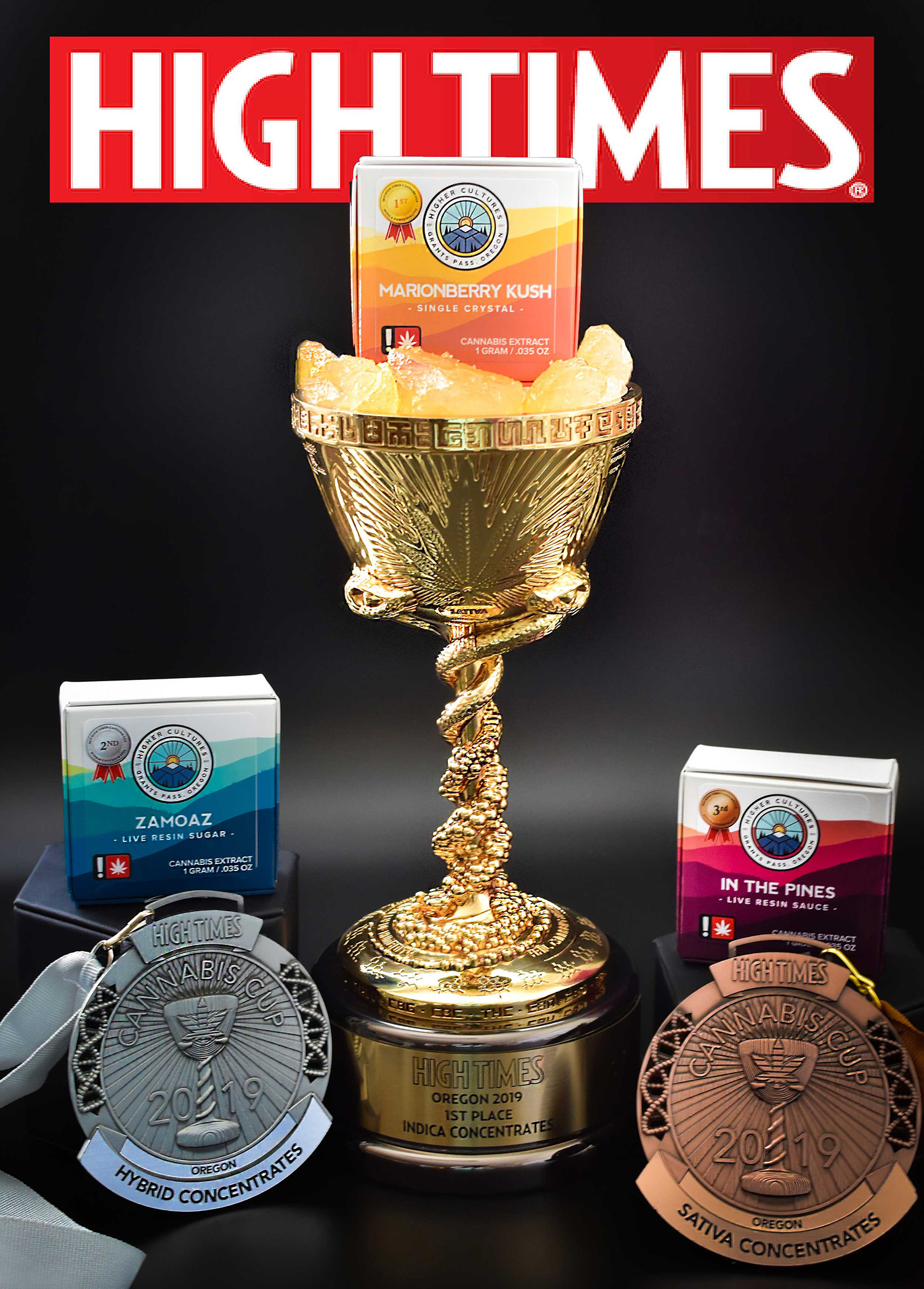 Higher Cultures High Times Cannabis Cup Oregon Winners